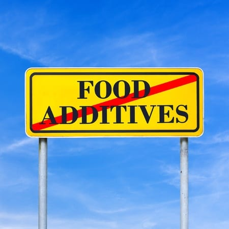 Food additives related to inflammation and against weight loss